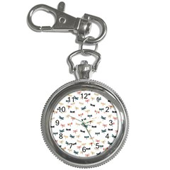 Dragonflies Animals Fly Key Chain Watches