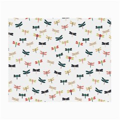 Dragonflies Animals Fly Small Glasses Cloth