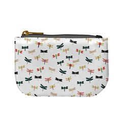 Dragonflies Animals Fly Mini Coin Purses