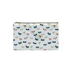 Dragonflies Animals Fly Cosmetic Bag (Small)