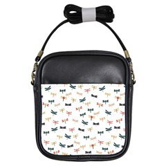 Dragonflies Animals Fly Girls Sling Bags