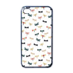 Dragonflies Animals Fly Apple iPhone 4 Case (Black)