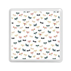 Dragonflies Animals Fly Memory Card Reader (Square)