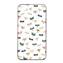 Dragonflies Animals Fly Apple iPhone 4/4s Seamless Case (Black)