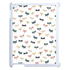 Dragonflies Animals Fly Apple iPad 2 Case (White)