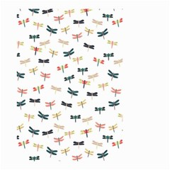 Dragonflies Animals Fly Small Garden Flag (Two Sides)