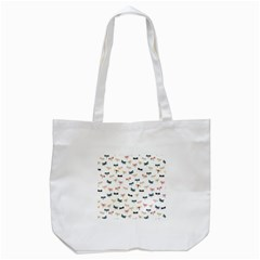 Dragonflies Animals Fly Tote Bag (White)