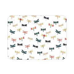 Dragonflies Animals Fly Double Sided Flano Blanket (Mini)
