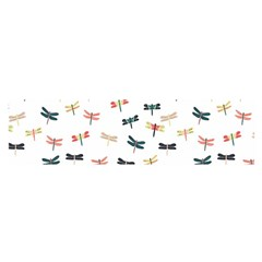 Dragonflies Animals Fly Satin Scarf (Oblong)