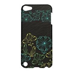 Elegant Floral Flower Rose Sunflower Apple iPod Touch 5 Hardshell Case