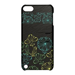Elegant Floral Flower Rose Sunflower Apple iPod Touch 5 Hardshell Case with Stand