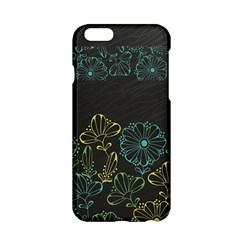 Elegant Floral Flower Rose Sunflower Apple Iphone 6/6s Hardshell Case
