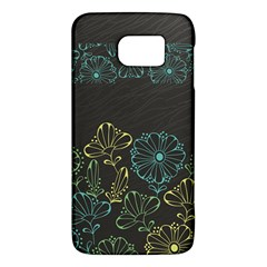 Elegant Floral Flower Rose Sunflower Galaxy S6