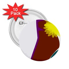 Stiletto  2.25  Buttons (10 pack)