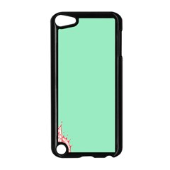 Flower Floral Green Apple iPod Touch 5 Case (Black)