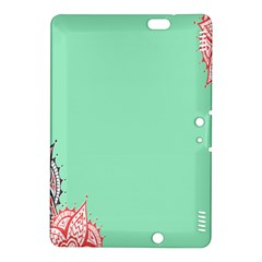 Flower Floral Green Kindle Fire HDX 8.9  Hardshell Case
