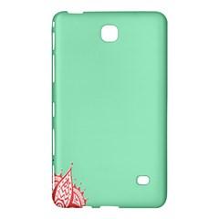 Flower Floral Green Samsung Galaxy Tab 4 (8 ) Hardshell Case
