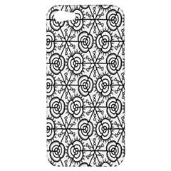 Flower Rose Black Triangle Apple iPhone 5 Hardshell Case