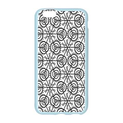 Flower Rose Black Triangle Apple Seamless iPhone 6/6S Case (Color)