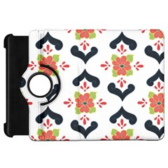 Flower Rose Floral Purple Pink Green Leaf Kindle Fire HD 7