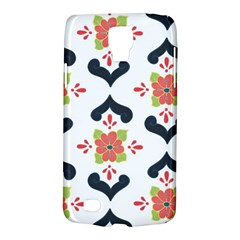Flower Rose Floral Purple Pink Green Leaf Galaxy S4 Active