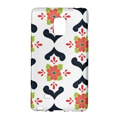 Flower Rose Floral Purple Pink Green Leaf Galaxy Note Edge