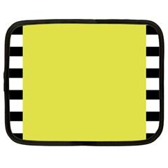 Fun Little Green Wave Netbook Case (Large)