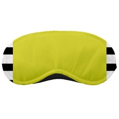 Fun Little Green Wave Sleeping Masks