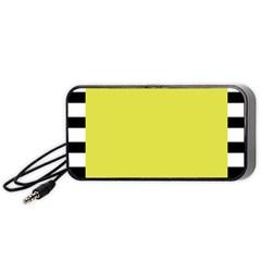 Fun Little Green Wave Portable Speaker (Black)