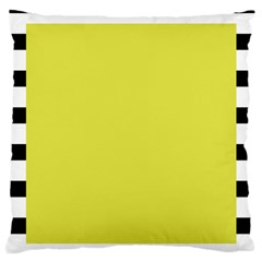 Fun Little Green Wave Large Cushion Case (One Side)