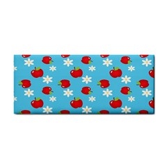 Fruit Red Apple Flower Floral Blue Cosmetic Storage Cases