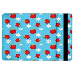 Fruit Red Apple Flower Floral Blue iPad Air 2 Flip
