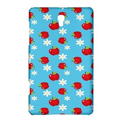 Fruit Red Apple Flower Floral Blue Samsung Galaxy Tab S (8.4 ) Hardshell Case