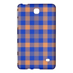 Fabric Colour Blue Orange Samsung Galaxy Tab 4 (7 ) Hardshell Case