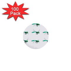 Flying Dragonfly 1  Mini Buttons (100 pack)