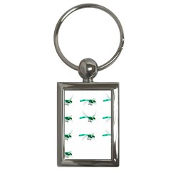Flying Dragonfly Key Chains (Rectangle)