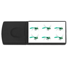 Flying Dragonfly USB Flash Drive Rectangular (4 GB)