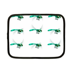 Flying Dragonfly Netbook Case (Small)