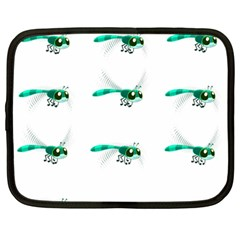 Flying Dragonfly Netbook Case (Large)
