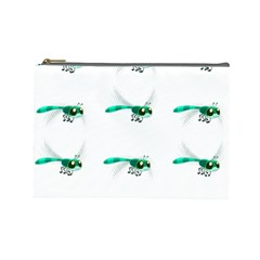 Flying Dragonfly Cosmetic Bag (Large)