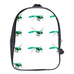 Flying Dragonfly School Bags(Large)