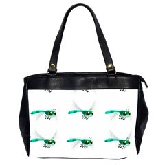 Flying Dragonfly Office Handbags (2 Sides)