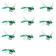 Flying Dragonfly Magic Photo Cubes
