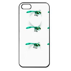 Flying Dragonfly Apple iPhone 5 Seamless Case (Black)