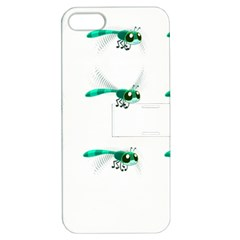 Flying Dragonfly Apple iPhone 5 Hardshell Case with Stand