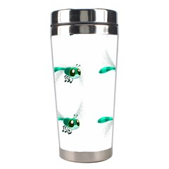 Flying Dragonfly Stainless Steel Travel Tumblers