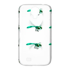 Flying Dragonfly Samsung Galaxy S4 Classic Hardshell Case (PC+Silicone)