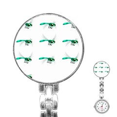 Flying Dragonfly Stainless Steel Nurses Watch