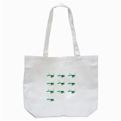 Flying Dragonfly Tote Bag (White)