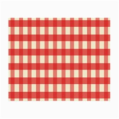 Gingham Red Plaid Small Glasses Cloth